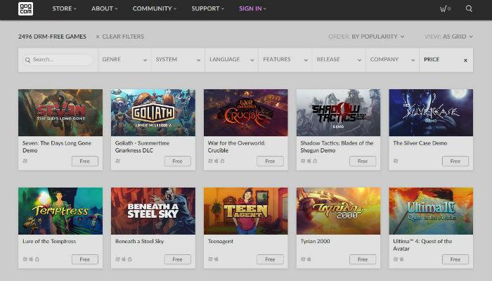 5 der besten Websites zum Herunterladen von kostenlosen Spielen - 2