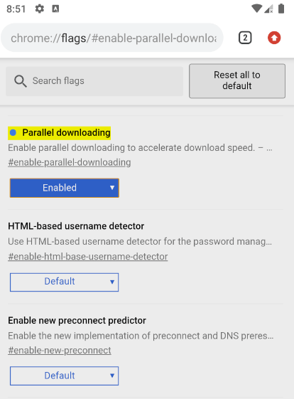 12 nützliche Android Chrome-Flags zum Aktivieren - 3