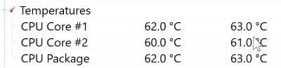 So überprüfen Sie die CPU-Temperatur Ihres Laptops in Windows 10 - 3