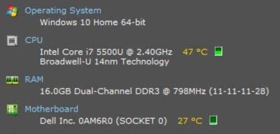 So überprüfen Sie die CPU-Temperatur Ihres Laptops in Windows 10 - 10