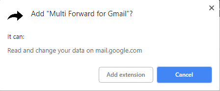 So leiten Sie mehrere E-Mails gleichzeitig in Google Mail mit Chrome - 2 weiter