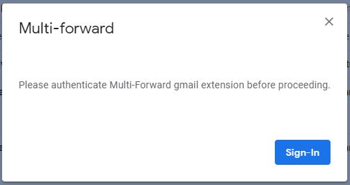 So leiten Sie mehrere E-Mails gleichzeitig in Google Mail mit Chrome - 5 weiter
