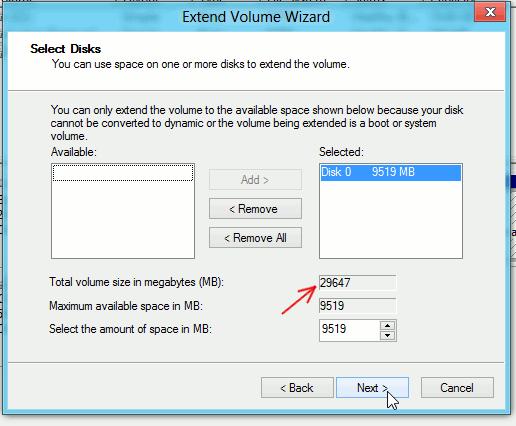 So erhöhen Sie die Größe der virtuellen Festplatte in Virtualbox - 5