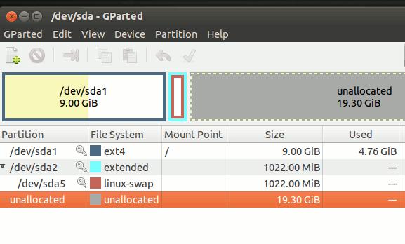 So erhöhen Sie die Größe der virtuellen Festplatte in Virtualbox - 7