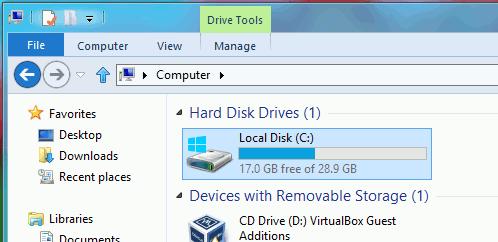So erhöhen Sie die Größe der virtuellen Festplatte in Virtualbox - 6