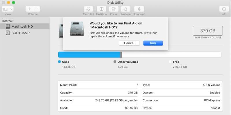 So beheben Sie den Mac-Fehlercode 43 - 3