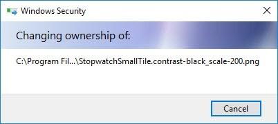 Wiederherstellen der TrustedInstaller-Eigentümerschaft für Systemdateien in Windows 10 - 8