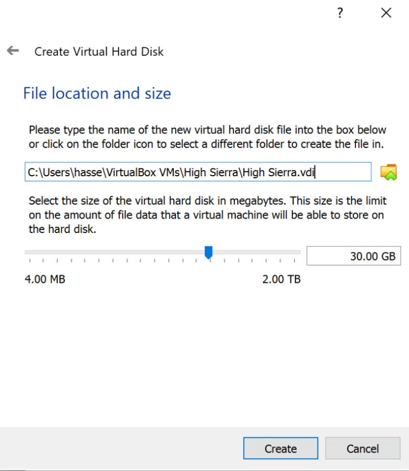So installieren Sie macOS auf VirtualBox - 6