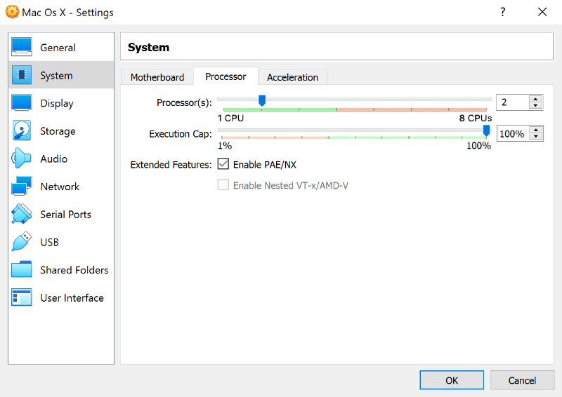 So installieren Sie macOS auf VirtualBox - 8