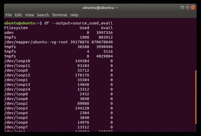So überprüfen und verwalten Sie den Speicherplatz unter Linux - 4