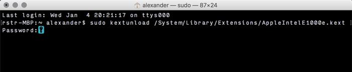 Hinzufügen und Entfernen von Kexts zu macOS - 3