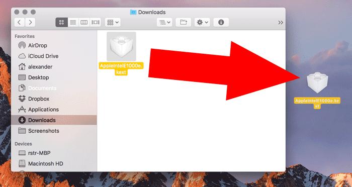 So fügen Sie Kexts zu macOS - 7 hinzu und entfernen sie