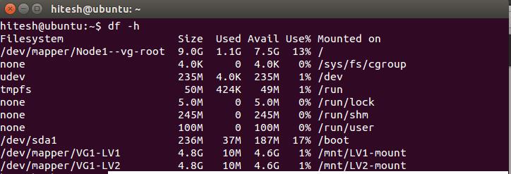 Was ist LVM und wie konfiguriert man es in Ubuntu - 6?