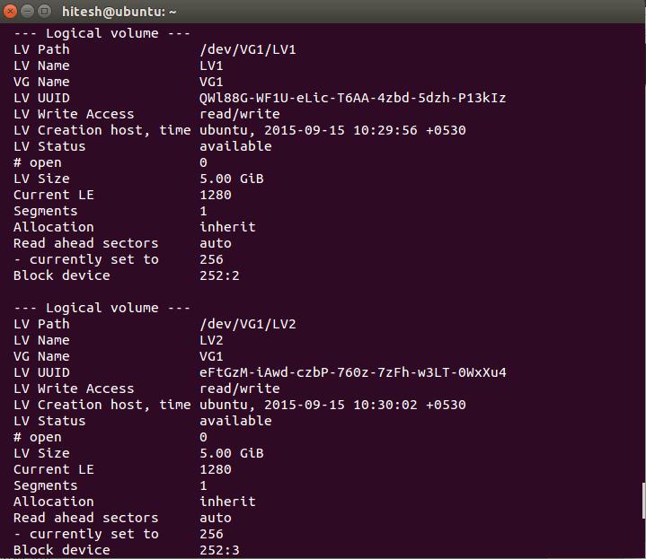 Was ist LVM und wie konfiguriert man es in Ubuntu - 5?