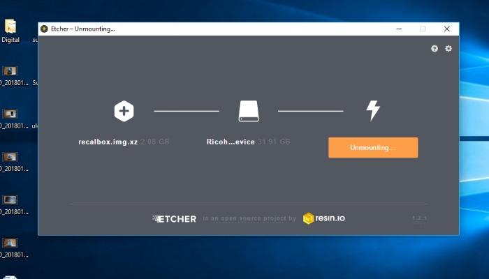 So installieren und konfigurieren Sie RecalBox auf Raspberry Pi - 3