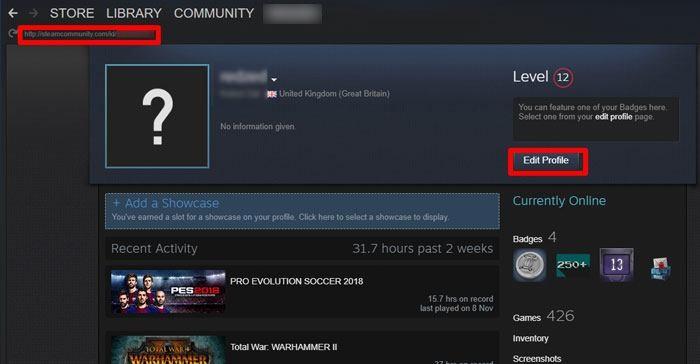 So finden und ändern Sie Ihre Steam ID - 3