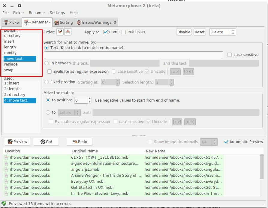 So benennen Sie Dateien unter Linux um - 3