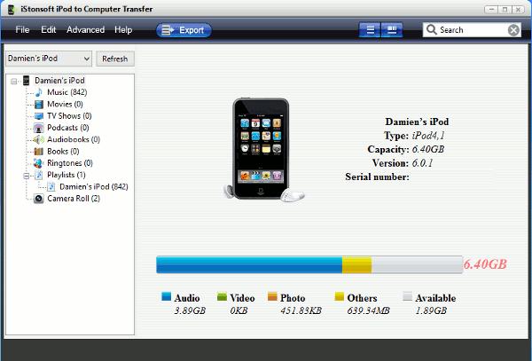 Regalo de cumpleaños de MTE: Übertragung von iStonsoft iPod auf Computer (Actualización: Fin del concurso)