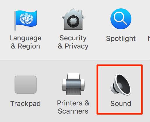 Deaktivieren Sie die Funktion des Sonido und des Mac, um verschiedene Funktionen zu nutzen