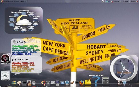 Installieren Sie das El Cairo Dock in Ubuntu Intrepid