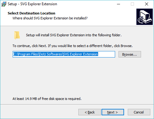 So zeigen Sie SVG-Miniaturansichten im Windows Explorer an