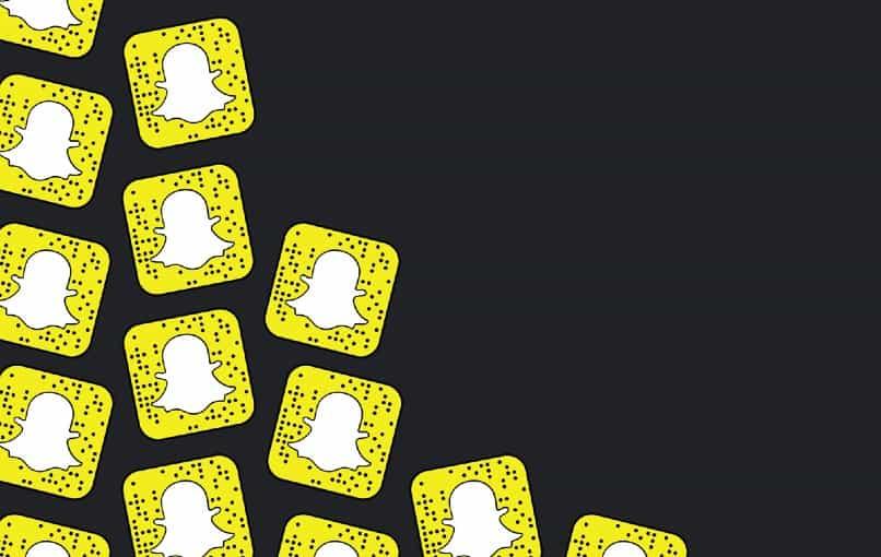 verschiedene Snapchat-Symbole