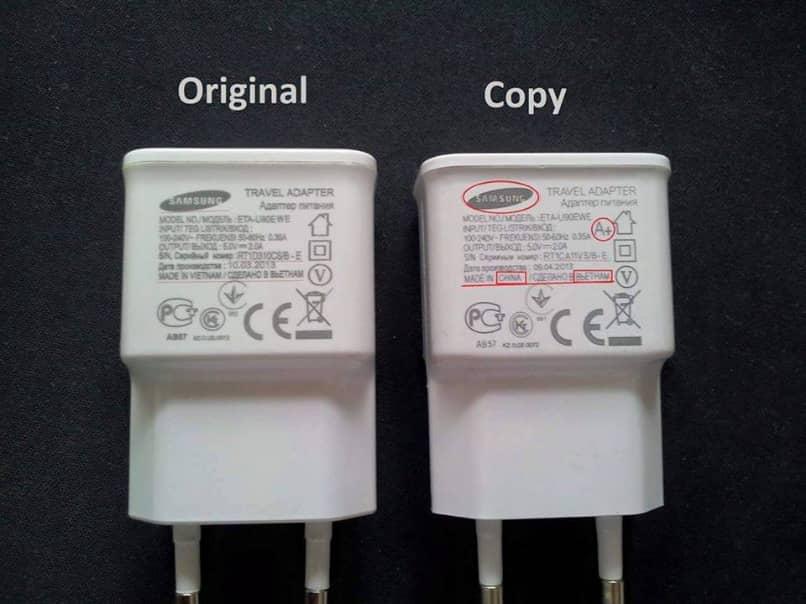 Unterschied Original Replik Ladegerät