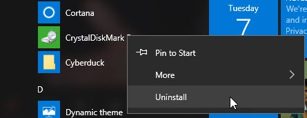 So installieren Sie APX-Dateien in Windows 10