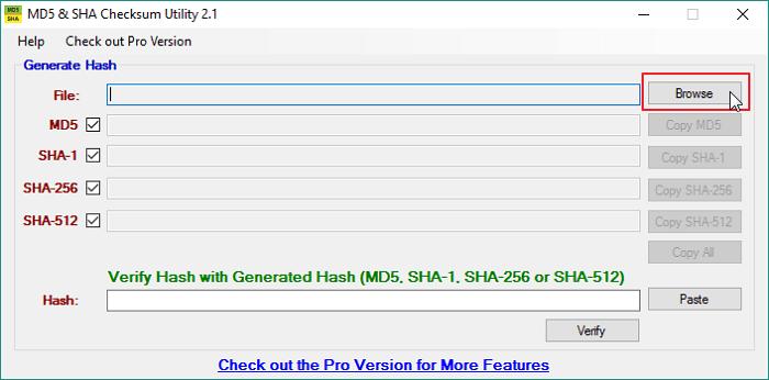 So überprüfen Sie die Prüfsumme von MD5, SHA-1 und SHA-256 in Windows 10