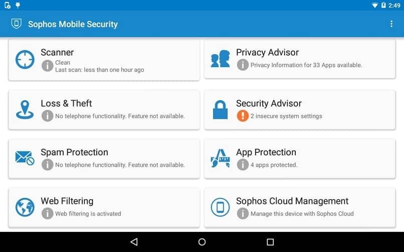 Sophos mobile Sicherheit