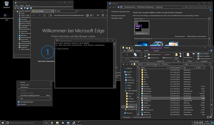 11 der 10 besten Windows-Designs zum Ausprobieren.  Mit Windows-Designs können Sie Ihren Windows-Desktop mit eleganten Designs anpassen.  Dies sind einige der besten Windows 10-Themen, die Sie sich ansehen sollten.
