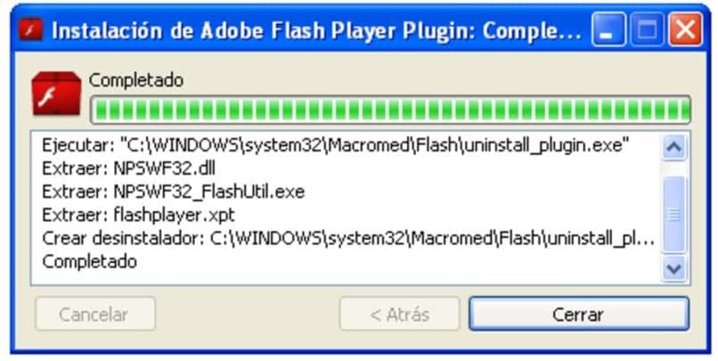 Laden Sie den Flash Player herunter und installieren Sie ihn