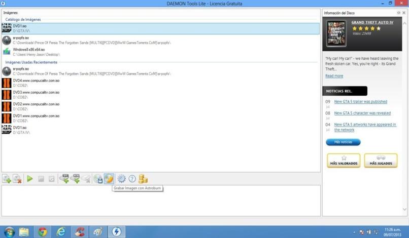 ISO-Datei auf Mac