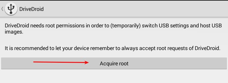 Verwenden Sie DriveDroid, um eine beliebige Android Linux-Distribution zu installieren[se requiere raíz]