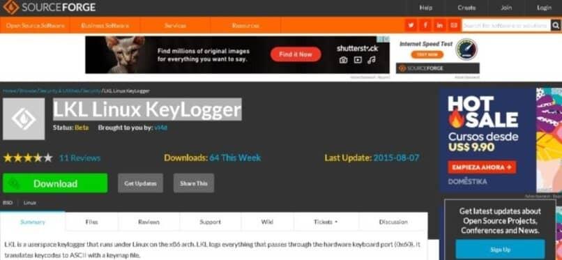 Änderung der Linux-Keylogger-Anwendung