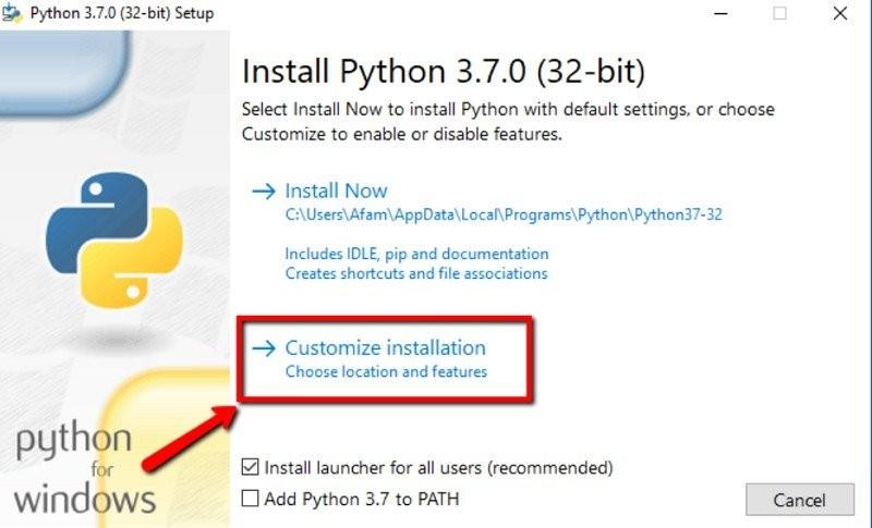 So richten Sie Python in Windows 10 ein