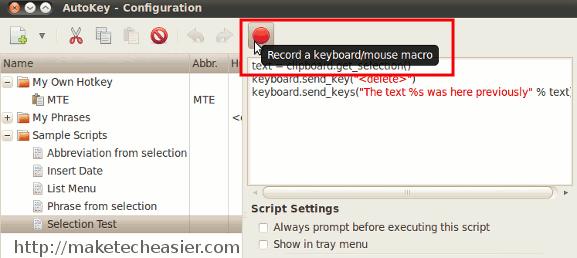 Autokey - Erstellen Sie Ihre eigenen Tastaturkürzel unter Linux