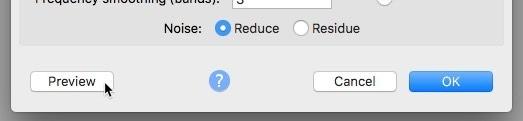So entfernen Sie Hintergrundgeräusche aus Audio unter macOS.  Wenn das Audio störende Geräusche enthält, werden Sie die Hörer massenhaft vertreiben.  Erfahren Sie, wie Sie unter macOS Hintergrundgeräusche aus Audio entfernen.