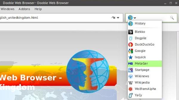 Einführung von Dooble, einem datenschutzorientierten Browser