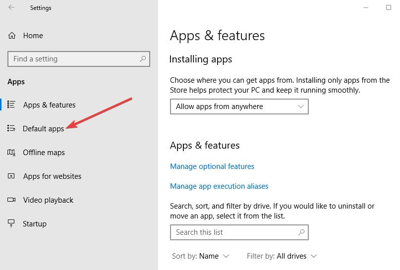 Deaktivieren Sie Microsoft Edge Schritt 2