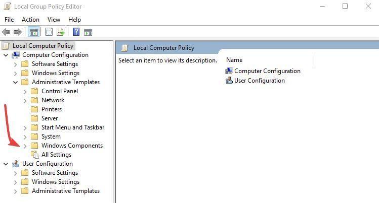 Deaktivieren Sie Microsoft Edge 8