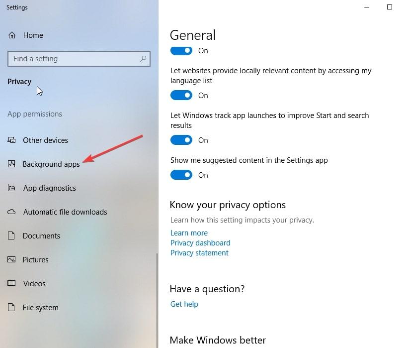 Deaktivieren Sie Microsoft Edge 4