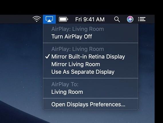 So streamen Sie Ihren Mac drahtlos auf einen Fernseher
