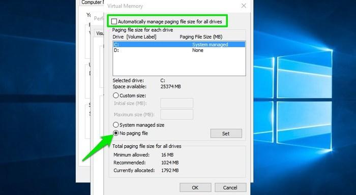 Was ist Pagefile.sys in Windows und wie können Sie es zu Ihrem Vorteil ändern?