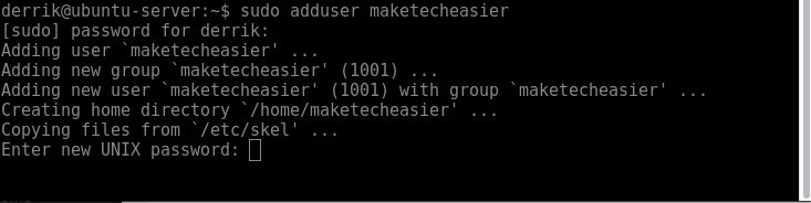 So fügen Sie Benutzer in Ubuntu Server hinzu