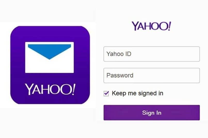 Geben Sie Daten für Yahoo ein