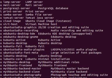 Tasksel - Einfache Installation von Gruppensoftware unter Linux