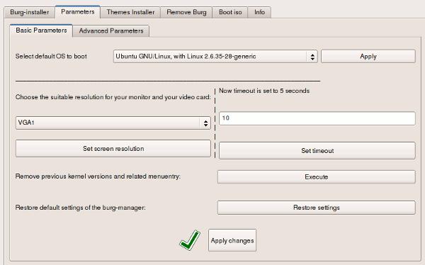 So passen Sie den Grub-Bildschirm mit BURG Manager an