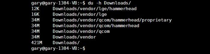 Grundlegendes zu den Linux-Befehlen df und du