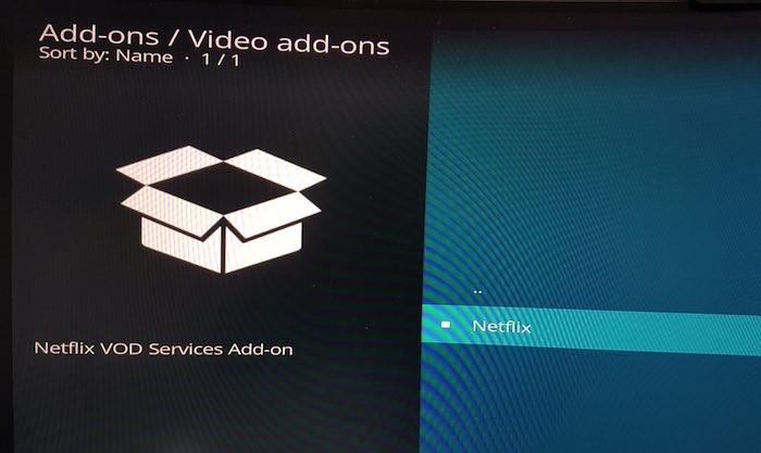 Netflix wird jetzt als Kodi-Video-Add-On angezeigt!